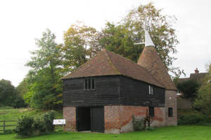 Oast house to dry hops